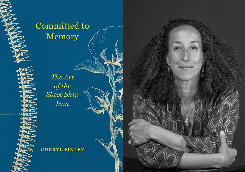 """""""Committed to Memory: The Art of the Slave Ship Icon,"""" by @SpelmanCollege art history professor, Dr. Cheryl Finley, won the Horowitz Book Prize for the best book on the decorative arts, design history, or material culture of the Americas published in 2018. http://bit.ly/2WTbpIa"""
