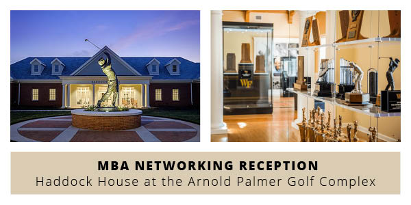 Are you an MBA #BizDeac near the triad? Join us for a networking reception at the Arnold Palmer Golf Complex on Wed 7/17 ⛳️ Connect with @WFUAlumni, students, faculty, staff, + Triad business leaders to grow your #WFU and professional network. Register » https://t.co/WRUNcd7Wy0