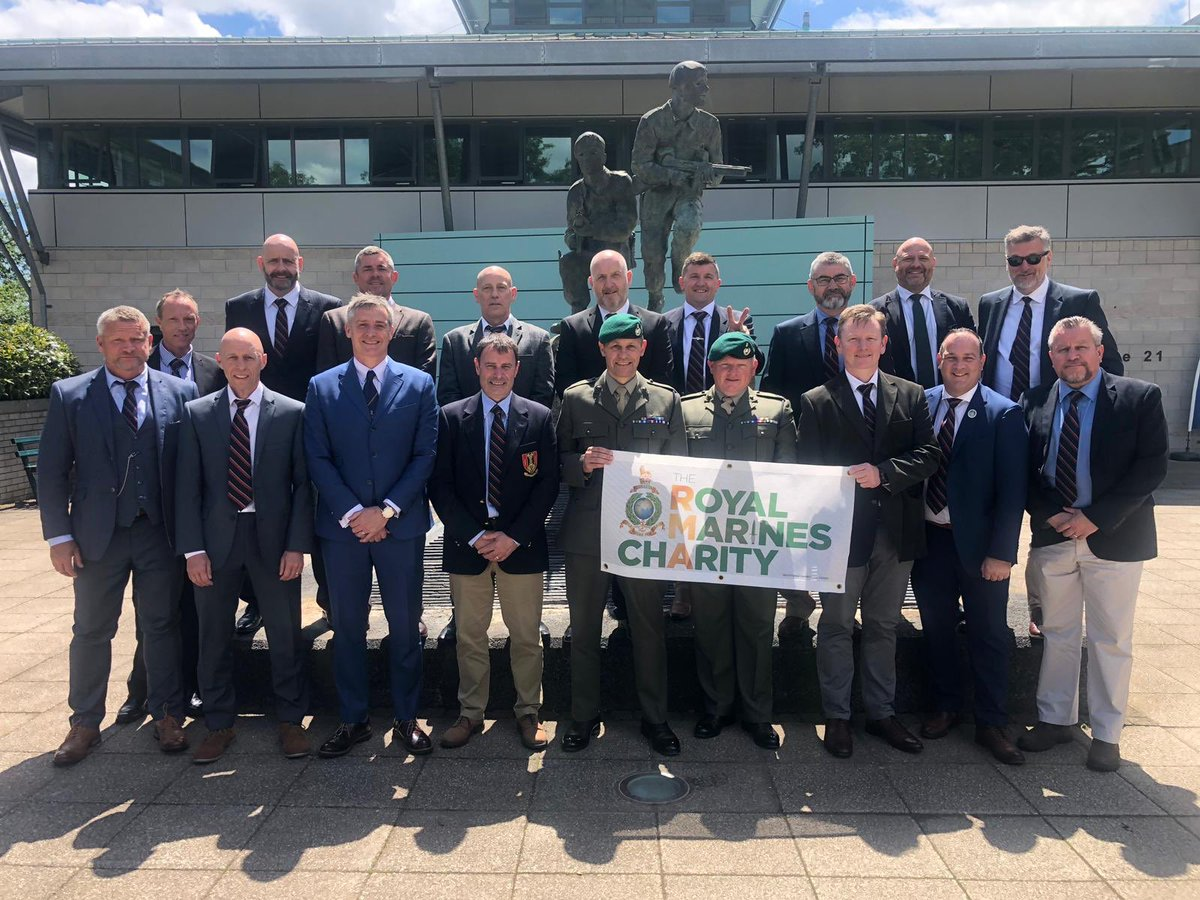 """This week both 548 and 192 Troop held their Troop reunions at CTCRM which was made extra special by them witnessing the passing out of 270 Troop """"The Kings Squad""""                  Both Troops showing tremendous support to RMA-TRMC.                    Once a Marine always a Marine"""