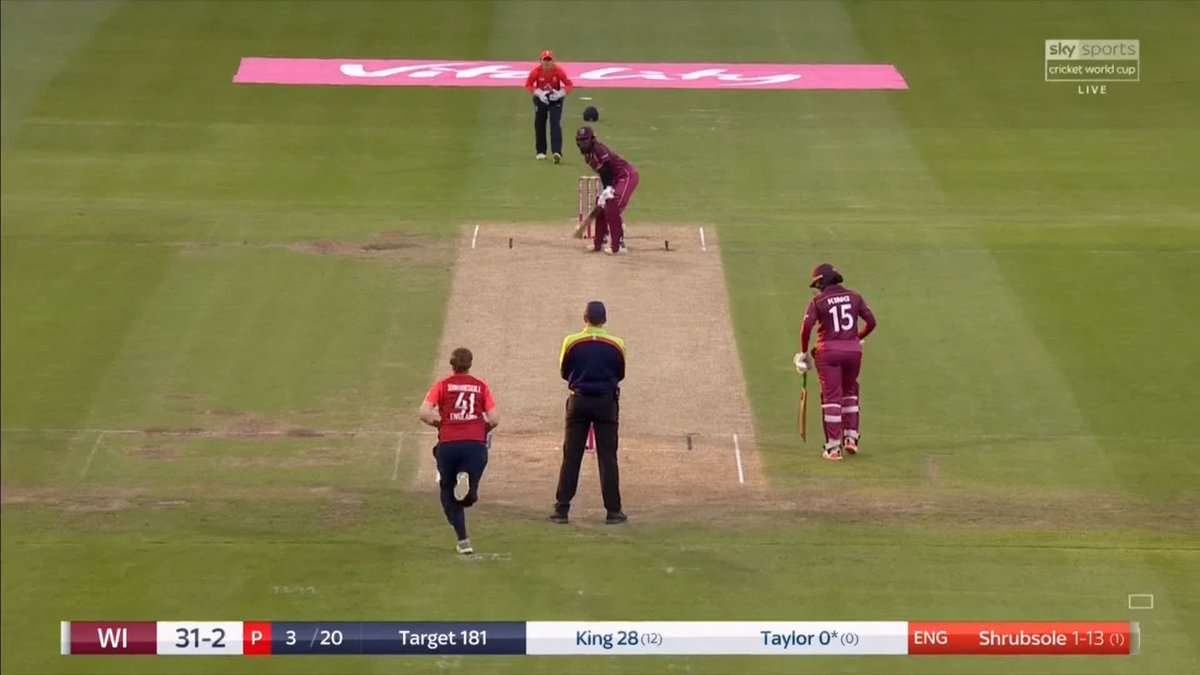 Was this a run out?! 🤔🤷‍♀️Stafanie Taylor jams her bat into the ground but lets go of it as the ball crashes into the stumps - did she make her ground? Watch #ENGvWI  live on Sky Sports Cricket: http://skysports.tv/1oFqSI    Over-by-over updates here: http://skysports.tv/X0iRUn