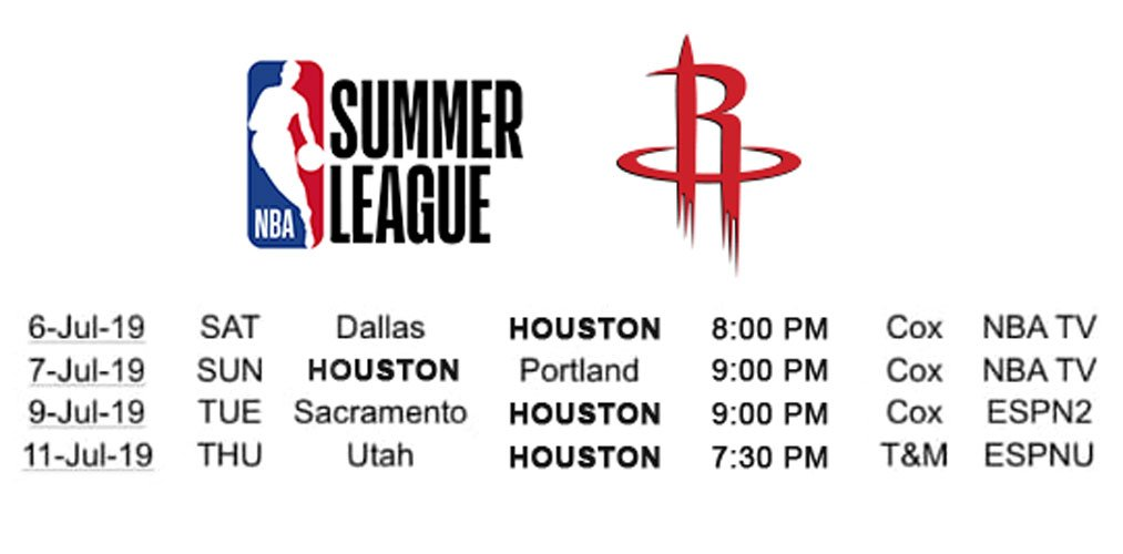 #NBASummer League is right around the corner. The action starts July 6th in Las Vegas! 🚀