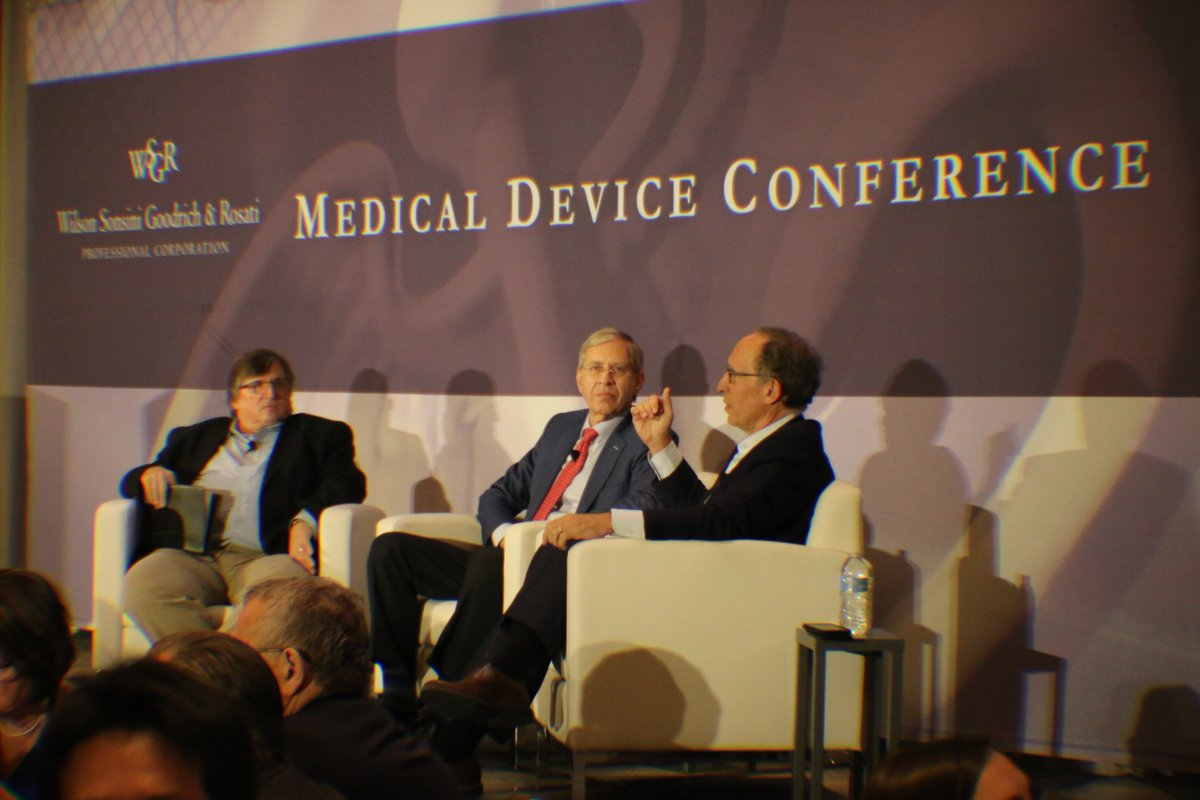 Lunchtime at #MDC2019: @MedTechStrat @DCassak talks to Deerfield Management partner Steve Hochberg & NXT Biomedical #CEO Stanton Rowe about the future of medtech #innovation & the opportunities & impediments that investors & #startups face as they develop & commercialize #medtech<br>http://pic.twitter.com/3TE5q44gDS