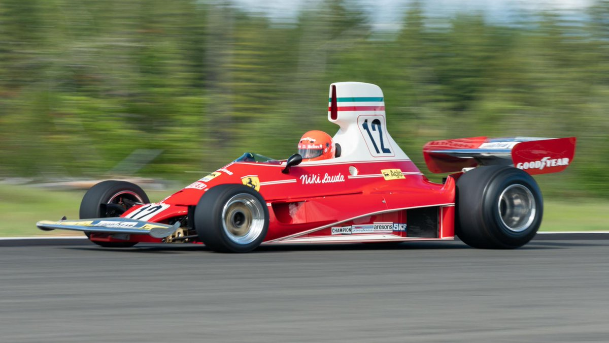 Niki Lauda's old Ferrari 312T F1 car is up for sale for £6.3m. Title-winning 1975 Ferrari driven by the late, great Lauda heads to auction >> tpgr.me/V2kb50uJRnD