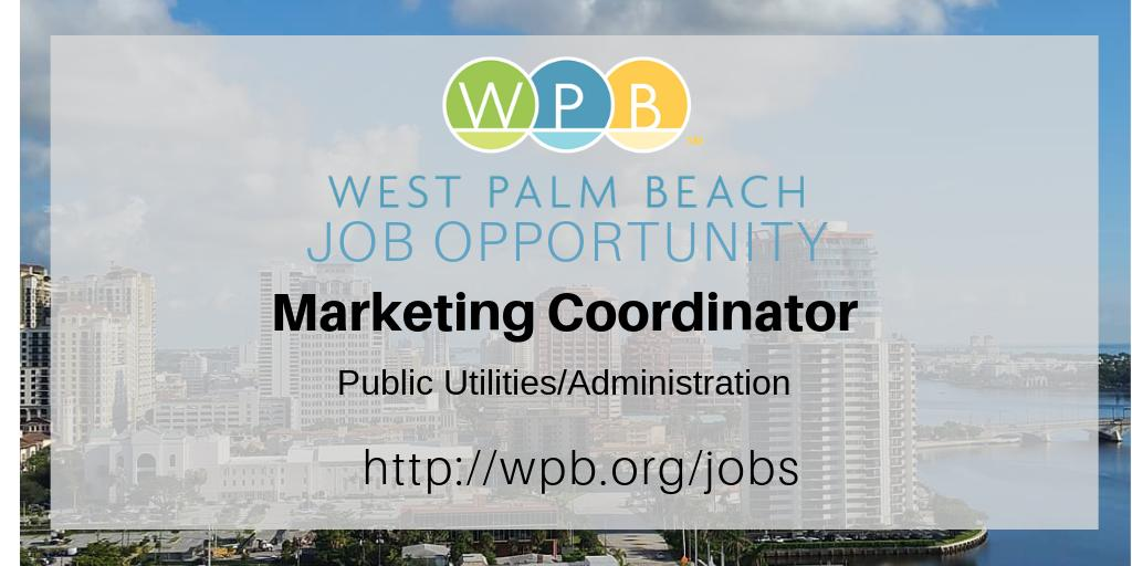 bbff29095a If you want to work where your efforts make a difference every day, then the  City of West Palm Beach wants to hear from you! Go to the jobs section of  our ...