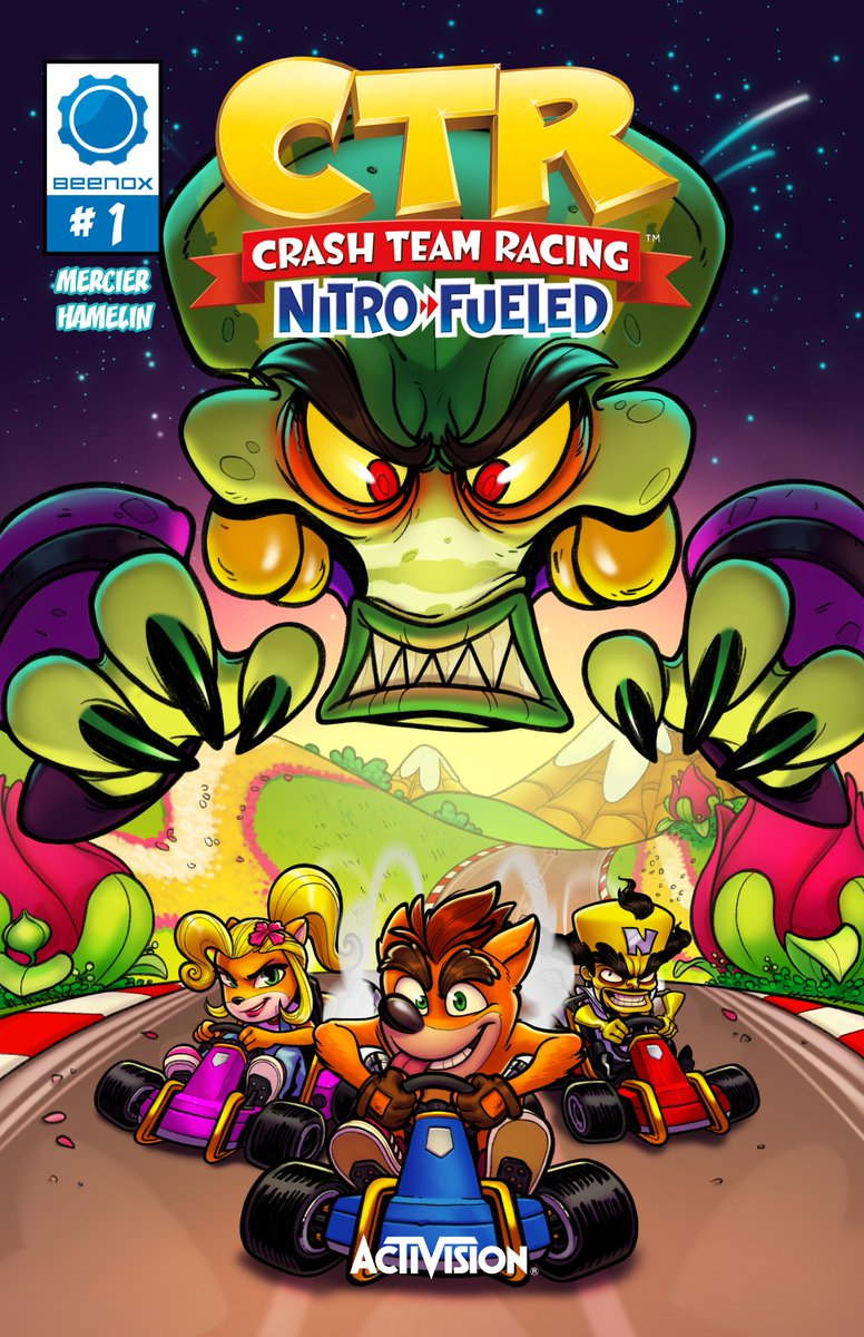 Crash Bandicoot On Twitter Read The Nitros Oxide Comic To Get A Closer Look Into Oxide S Survival Of The Fastest Https T Co Gwbwuwf4ch Activision, crash team racing, ctr, crash bandicoot, crash and crash: crash bandicoot on twitter read the