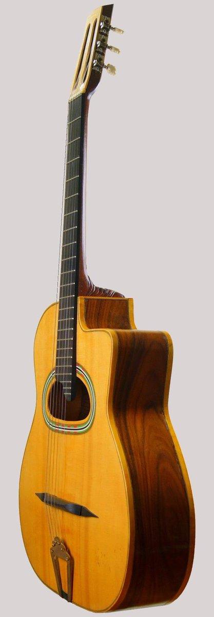 Ninham grande bouche manouche guitar