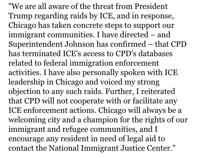 Mayors of targeted cities voice support for immigrant communities