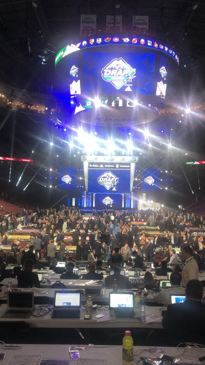 The calm before the storm #NHLDraft https://t.co/RyFOTvWqqP