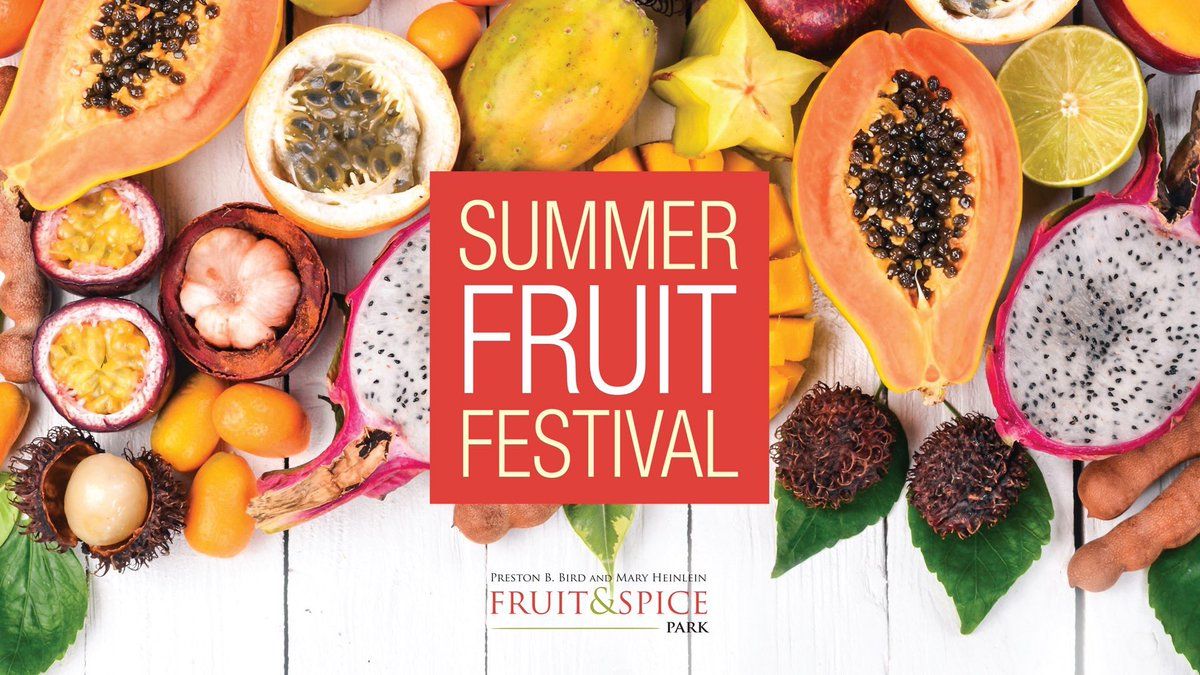 Fruit and Spice Park (@fruitnspice)   Twitter