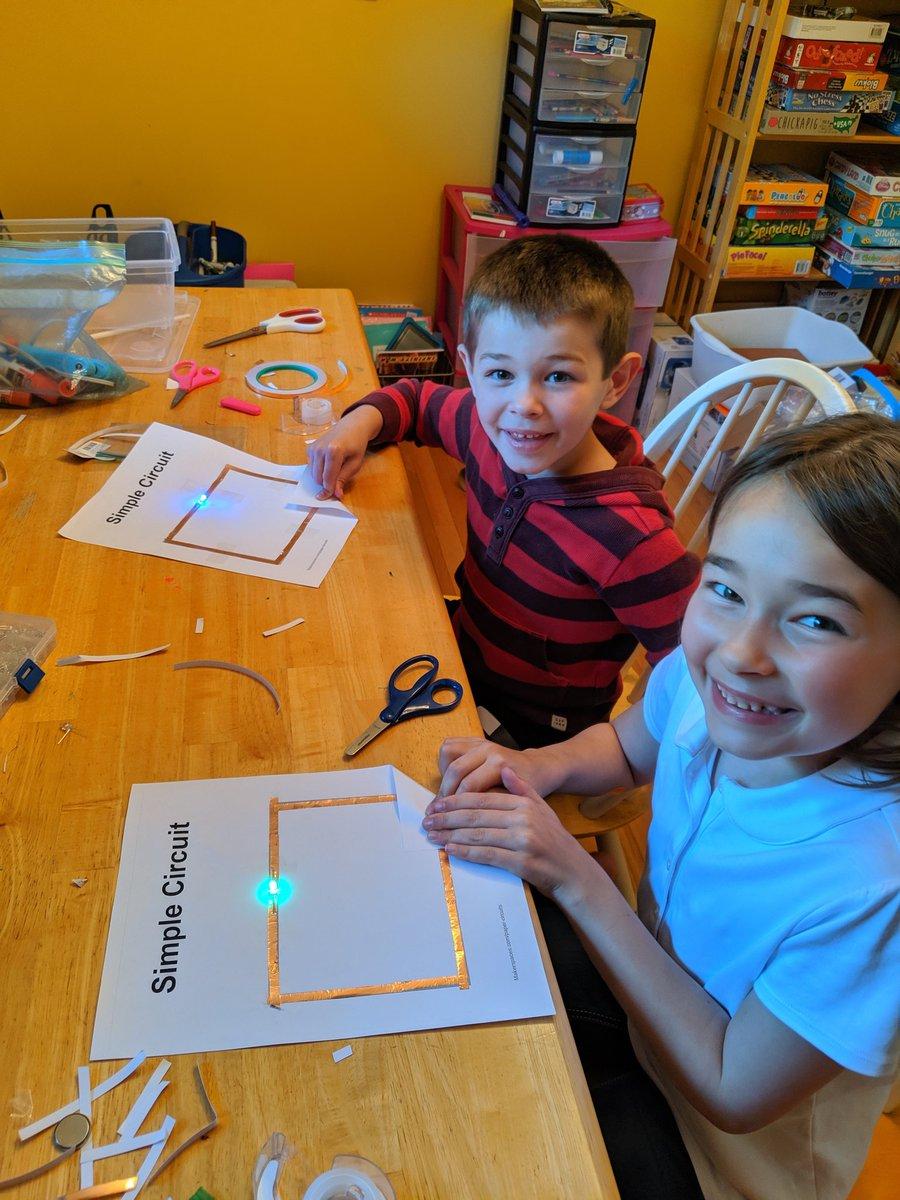 Summer is a great time to model maker activities on my familial captive audience! #familymaking #lovemyjob #vted