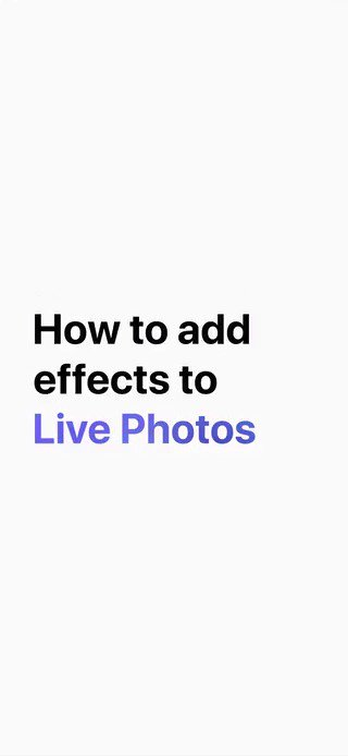 What if a waterfall started flowing up? Or froze in place on a summer day?   Give your Live Photos a creative twist by adding an effect like Bounce or Long Exposure. Here's how. #EveryoneCanCreate