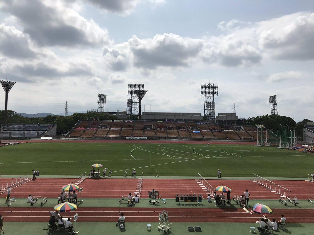インカレ 陸上 2019 西日本