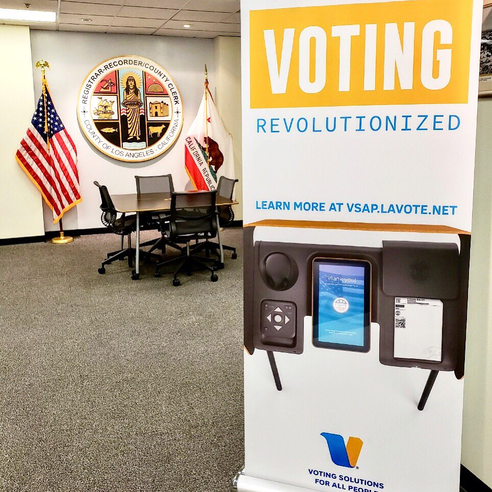Everything about voting in L.A. is about to change. If it goes wrong, he'll get the blame