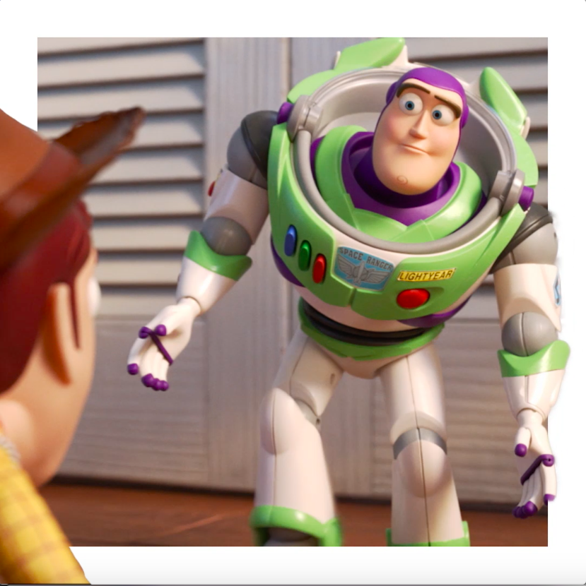 New story, old parts. See #ToyStory4 again today!