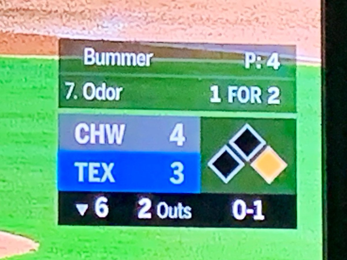 When you work outside all day in the Texas summer heat you get a bad case of... #Rangers