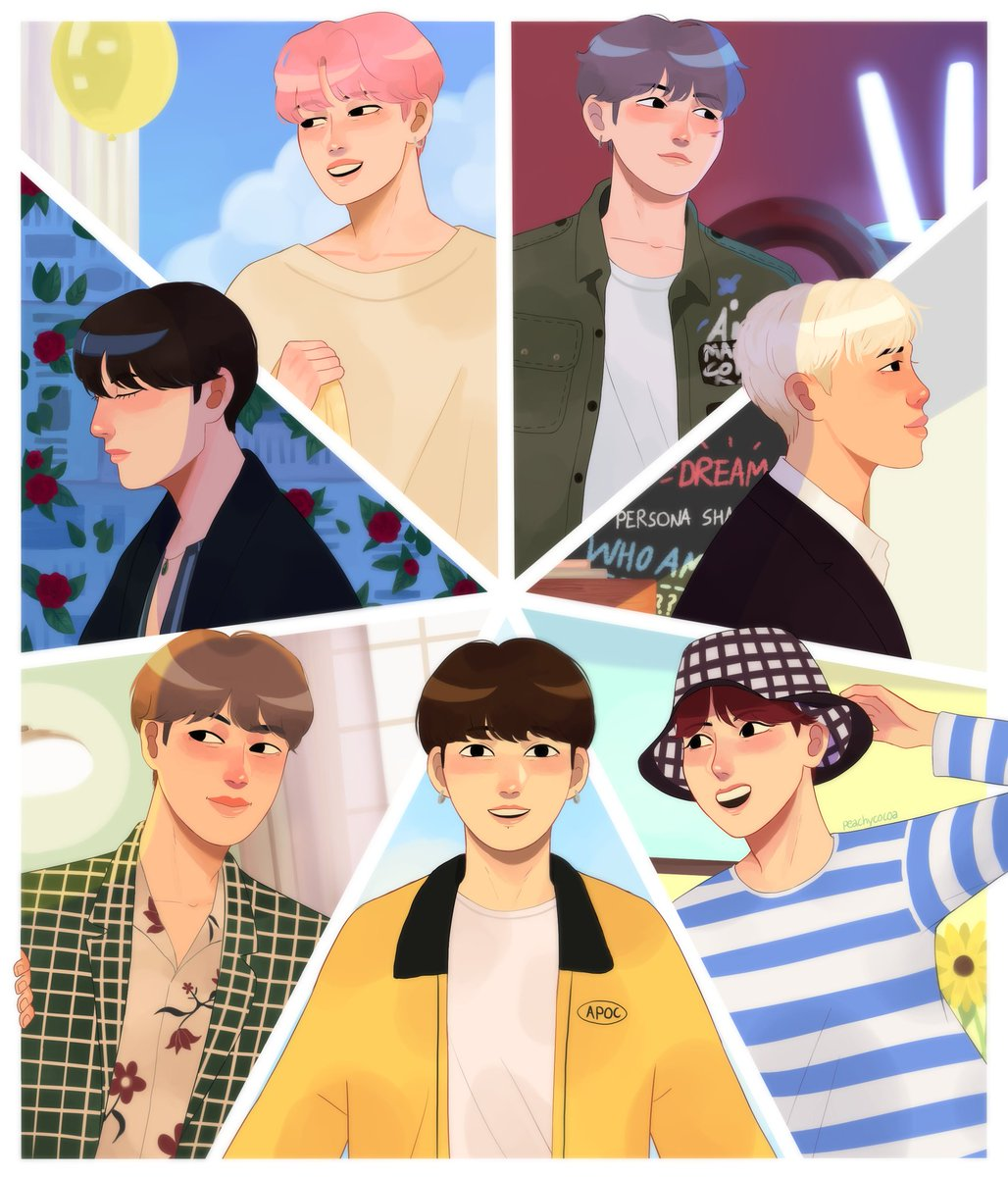 Extremely late for this, but happy 6th anniversary BTS!  #btsfanart #6YearsWithOurHomeBTS #BTSFESTA2019 #btsartmy<br>http://pic.twitter.com/1dsOdaAgj2