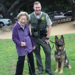 Image for the Tweet beginning: K9 Chop and Deputy Moore