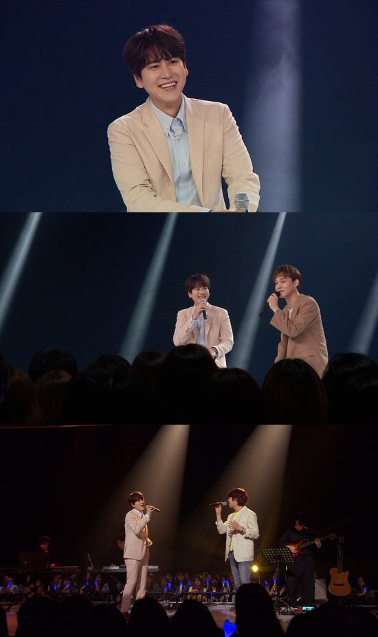 'RUNwav' MC Kyuhyun, Kim Heechul, and EXO Chen's Collab Stage Revealed  The first episode of RUNwav will be broadcasted tonight at 12:20 AM KST on JTBC2. It is said that Kyuhyun will sing 'Beautiful Goodbye' with Chen and 'Sweet Dreams' with Heechul.  #KYUHYUN #규현
