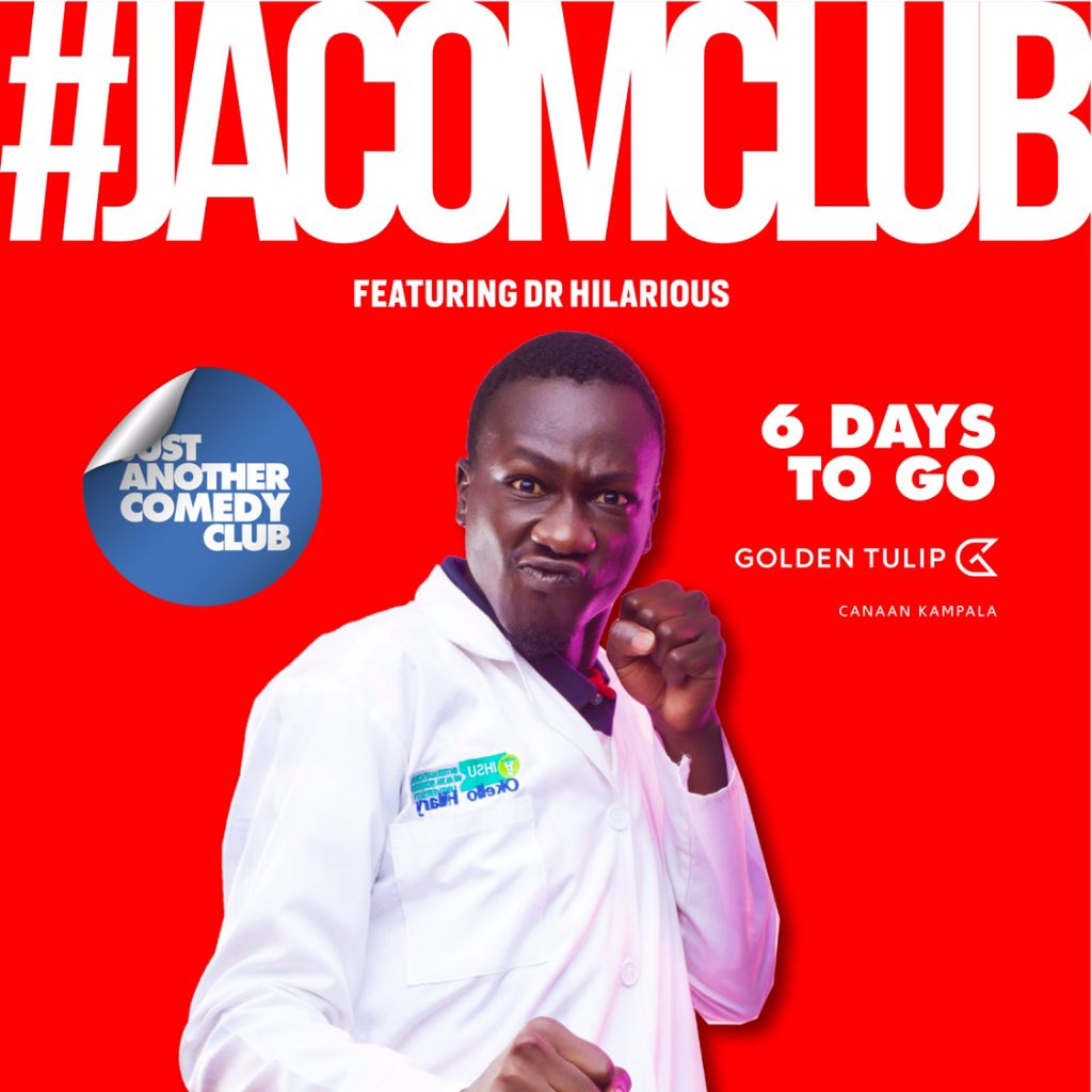 #jacomclub #thelaughdowncontinues 6 days to go