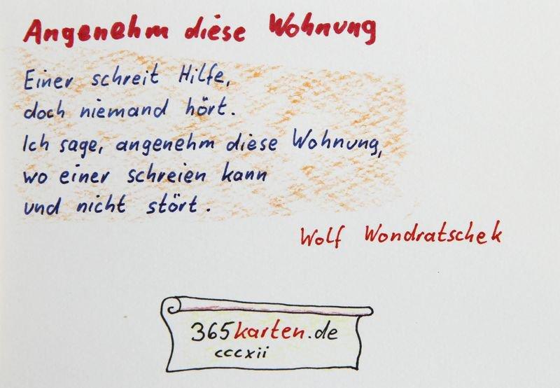 365karten On Twitter Einsamkeit Wolf Wondratschek