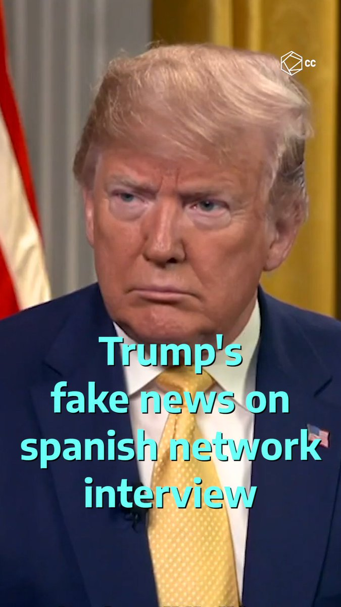 Donald Trump was interviewed for the first time by a Latin network and hes clearly desperate for the Latino vote 😡😬