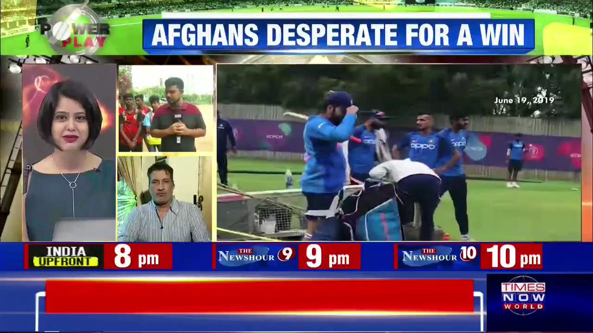 #CheerForTeamIndia | TIMES NOW's @Aruneel_S interacts with young cricket fans on today's match.