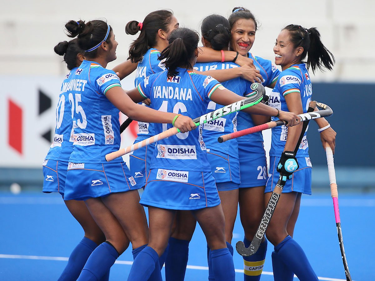 #FIHSeriesFinalsHiroshima Indian women's #Hockey team secures place in Olympic qualifiers final round🏑India beat lower-ranked Chile 4-2 in the semifinalsReport ✍️http://toi.in/ZrIOMb68/a24gk