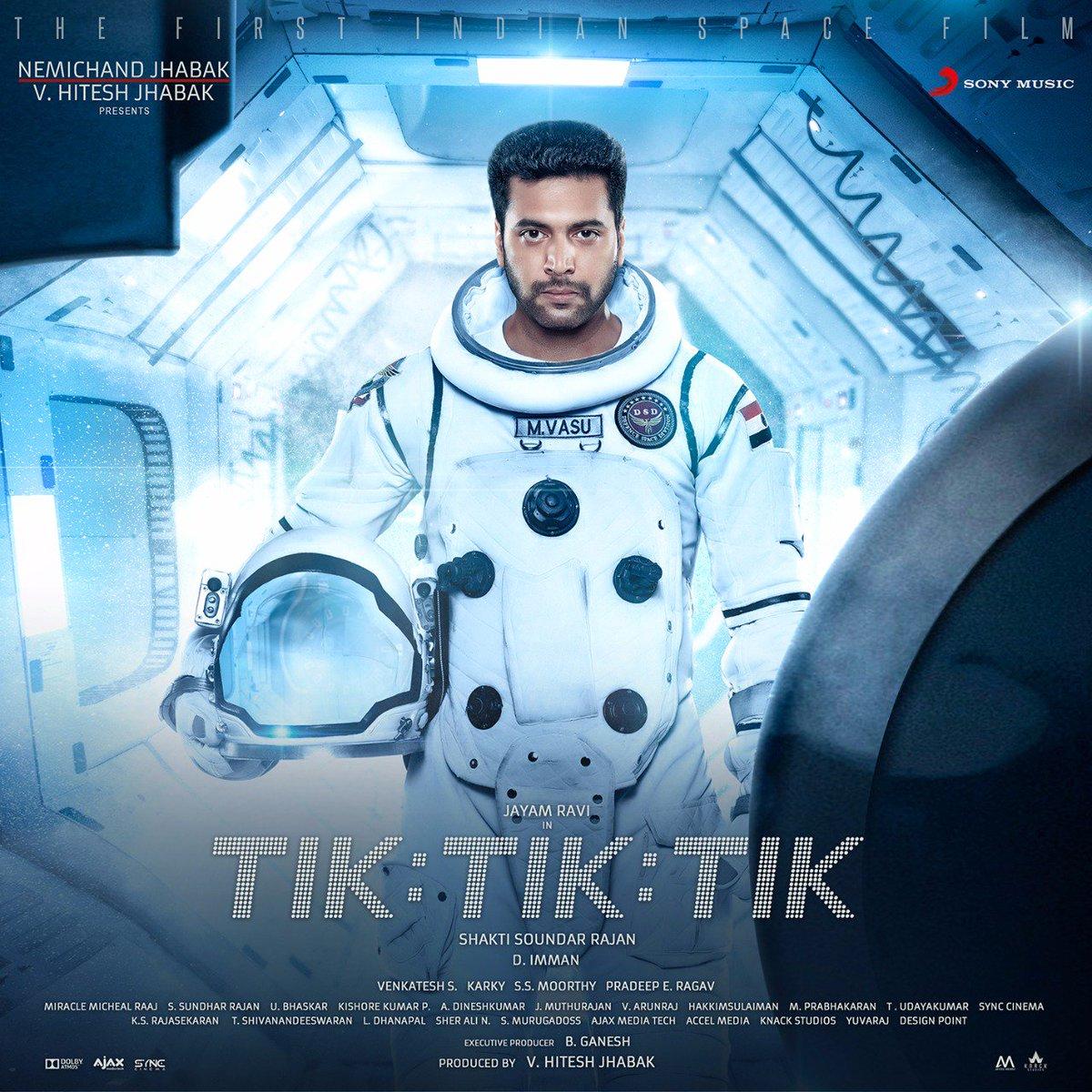 A year of India's first-ever space film and only soaring higher! 🚀💥  Reminiscing #1YearOfTikTikTik with the stellar album right here ➡️  http://bit.ly/TikTikTikPlaylist…  @actor_jayamravi @ShaktiRajan @immancomposer @JabaksMovies #NivethaPethuraj @madhankarky   #DImman100