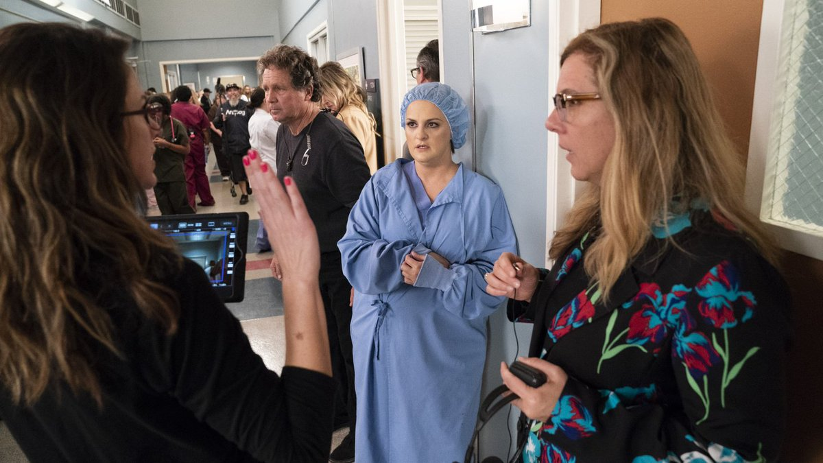 """Before Emmy voting ends, consider #GreysAnatomy's powerful """"Silent All These Years"""" episode. Here's showrunner @KristaVernoff and writer @erfinchie on @kcrw's The Business discussing the ground-breaking hour https://kcrw.co/2xaXHkQ"""