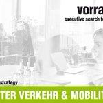 Image for the Tweet beginning: PROJEKTLEITER VERKEHR & MOBILITÄT (w/m/x)