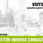 Image for the Tweet beginning: SENIOR DIRECTOR INHOUSE CONSULTING (w/m/x)