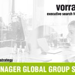Image for the Tweet beginning: PROJECT MANAGER GLOBAL GROUP STRATEGY