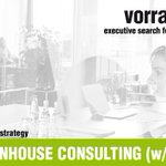 Image for the Tweet beginning: PRINCIPAL INHOUSE CONSULTING (w/m/x) |