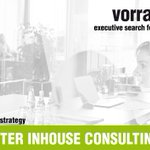 Image for the Tweet beginning: PROJEKTLEITER INHOUSE CONSULTING (w/m/x) |