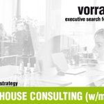 Image for the Tweet beginning: PARTNER INHOUSE CONSULTING (w/m/x) |