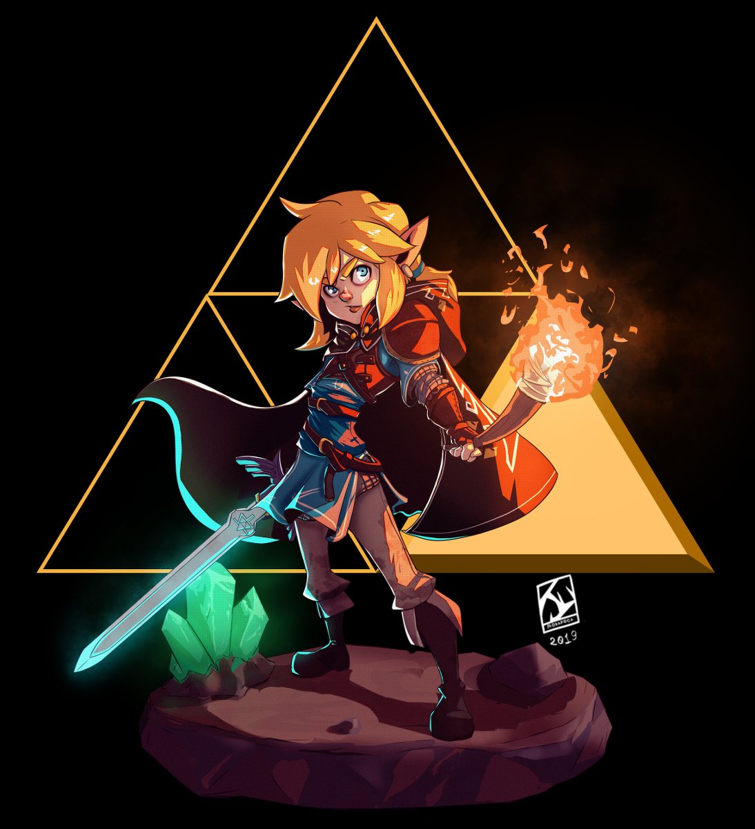 Juliano Vieira Commission Open 4 Slots On Twitter Zelda