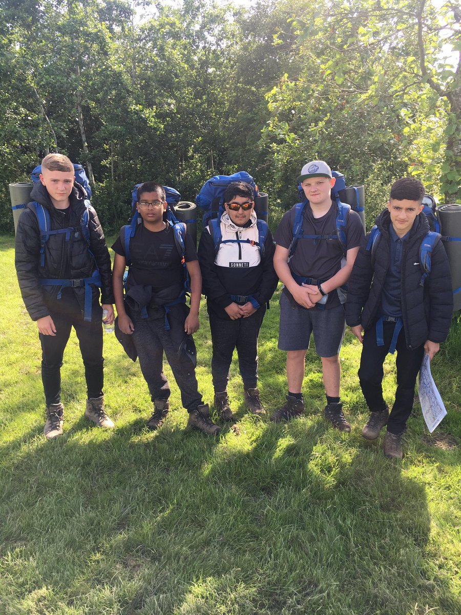 All set and ready for Day 2! #DofE #Hathershaw2019 #BronzeAward #Navigation #MapReading #AreWeNearlyThereYet!