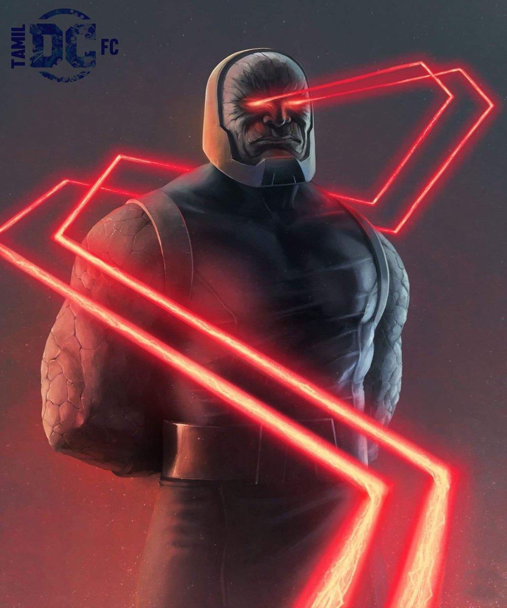 Darkseid - இன்னொரு பேரு God of Evil.Apokolips கிரகத்த ஆட்சி செய்ரவன் & Justice League பரம எதிரி.Darkseid-அ Inspire பன்னிதான் Thanos கேரக்டர் உருவாக்கப்பட்டது   நோக்கம்:Anti-Life Equation-அ கண்டுபுடிச்சி பேரண்டத்துல இருக்க எல்லா உயிர்களையும் தன்னோட பேச்சுக்கு அடிய பனிய வெக்கிரது