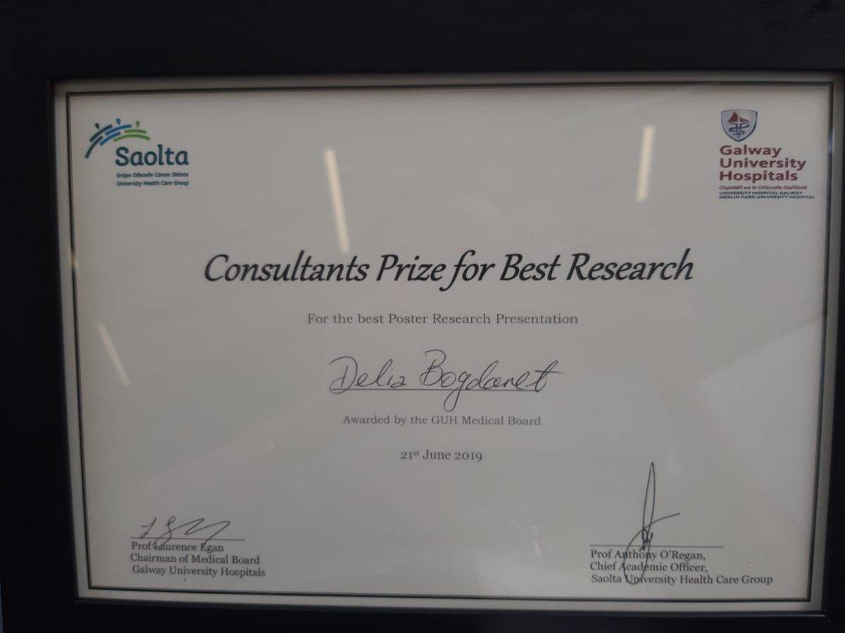 Congratulations Delia!