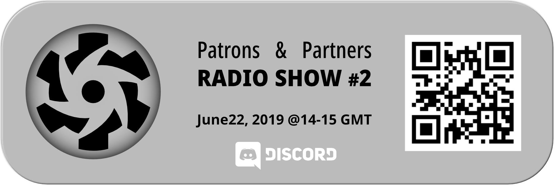 Quasar Patrons and Partners Radio Show