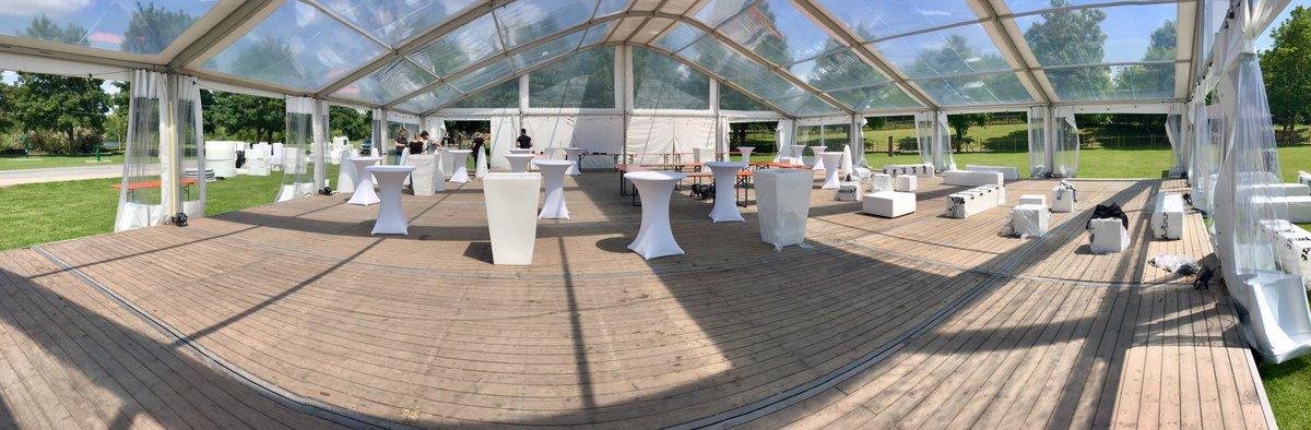 La soirée blanche au Parc d'Isle se prépare ! https://t.co/xe83H36AyZ