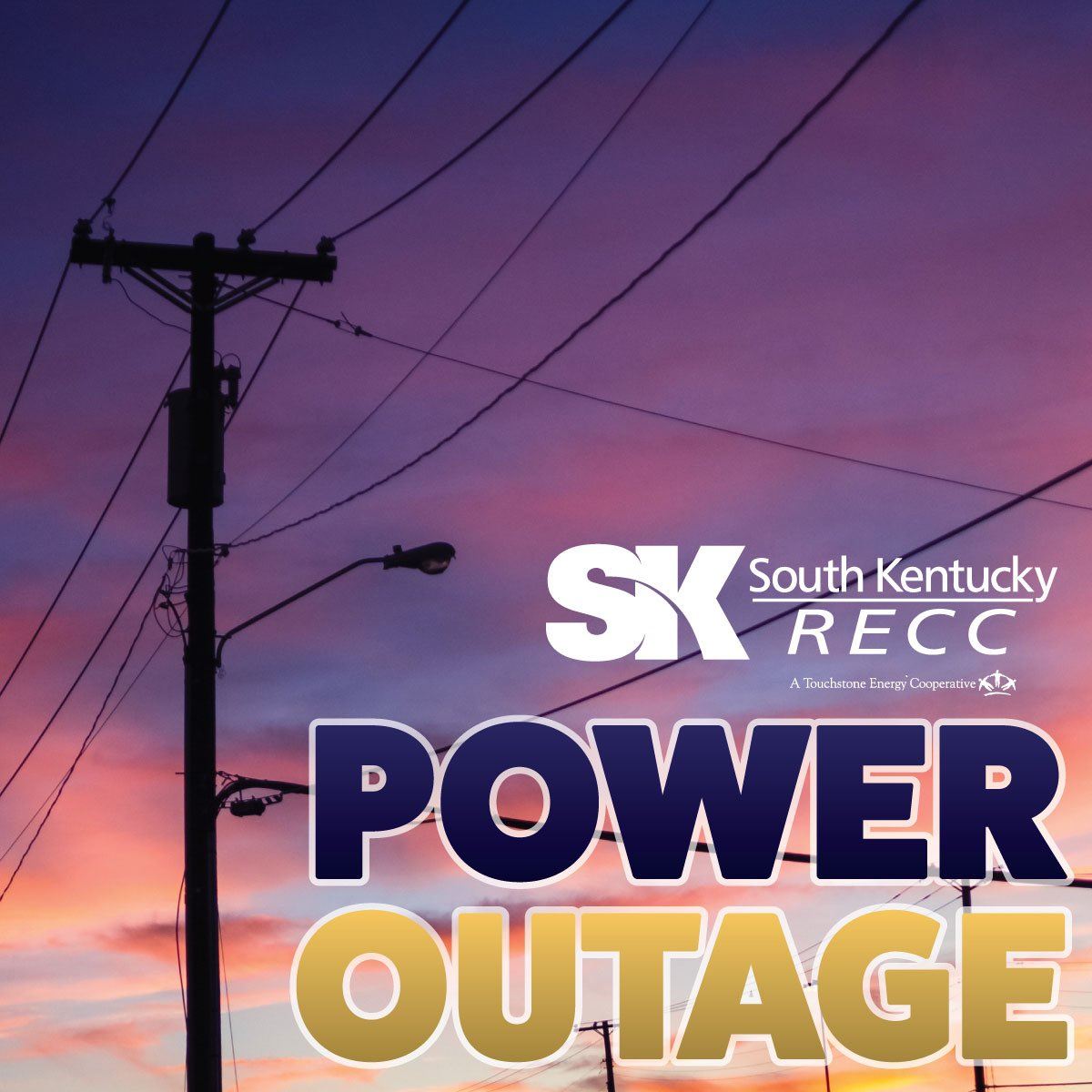 skrecc power outage map Southkentucky Recc On Twitter To Keep Track Of Outages Follow