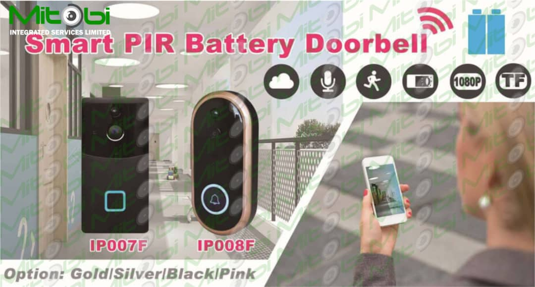 Smart PIR battery doorbell will definitely make life easier for you. With your phone you can watch and speak with any guest at your door either you are at home or not. =08033133950 #smartdoorbell #wifidoorbell #motionsensor #motiondetector #doorbell #security #safety #mitobi