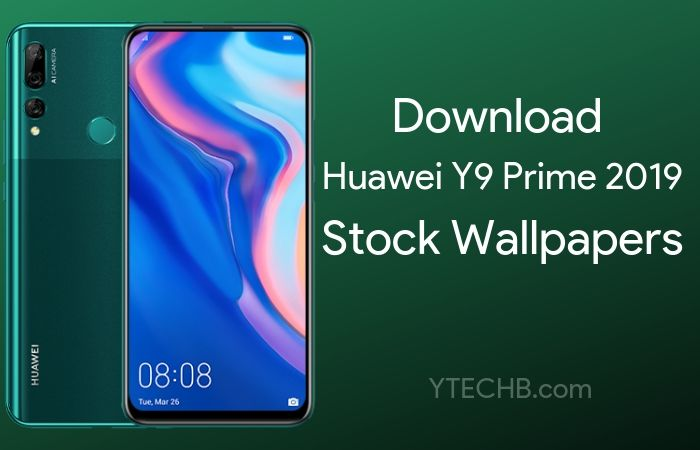Download Huawei Y9 Prime (2019) Stock Wallpapers in FHD+!