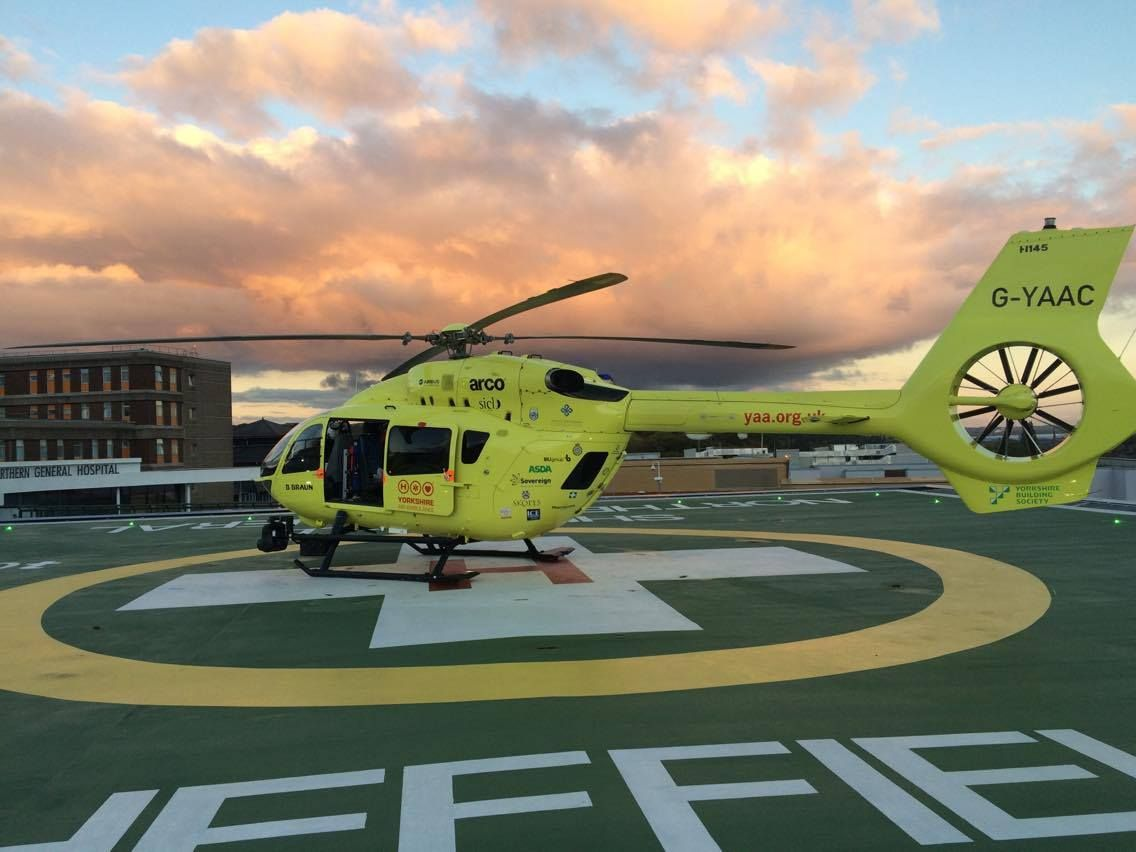 #Factoftheweek Did you know that Sheffield is the fifth most populated city in England? Last year, we attended 77 incidents in Sheffield and flew to Sheffield Northern General 110 times 🚁💛
