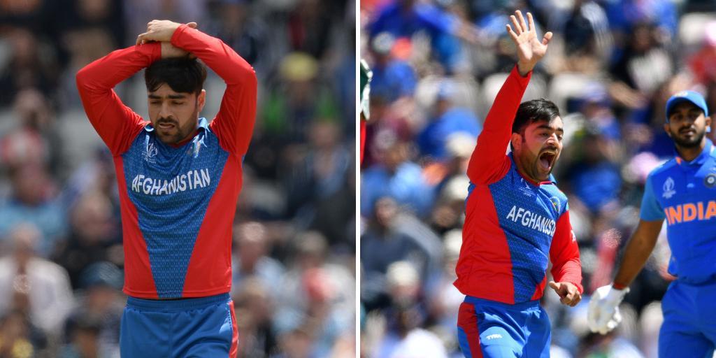 Rashid Khan v 🏴 – 9 overs, 110 runs, no wicketsRashid Khan v 🇮🇳 – 10 overs, 38 runs, 1 wicket Form is temporary, class is permanent 🙌#INDvAFG#AfghanAtalan
