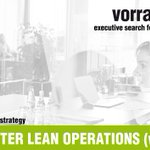 Image for the Tweet beginning: PROJEKTLEITER LEAN OPERATIONS (w/m/x) |