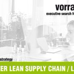 Image for the Tweet beginning: PROJEKTLEITER LEAN SUPPLY CHAIN /