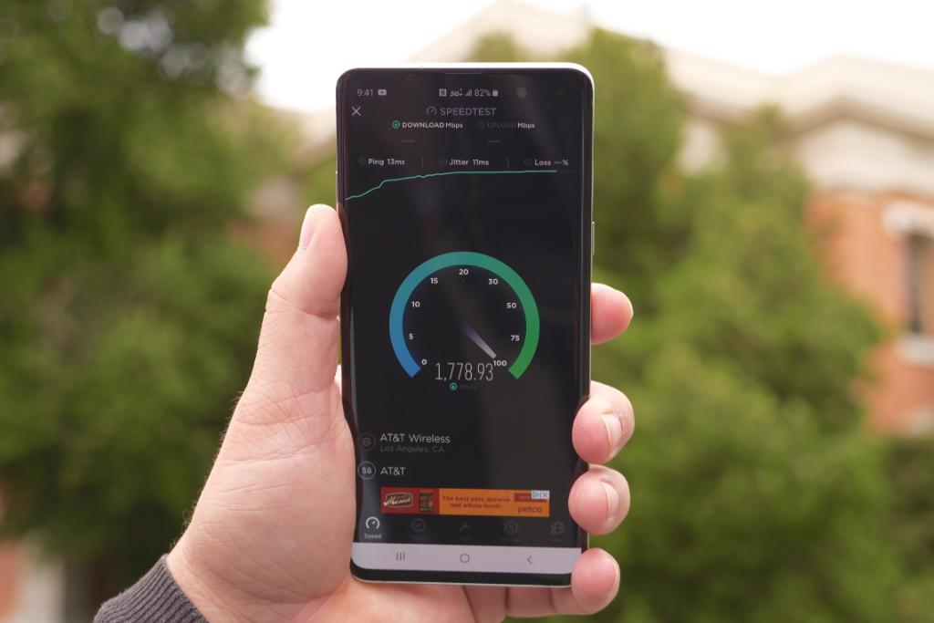 Our AT&T 5G speed test yields the craziest speeds yet