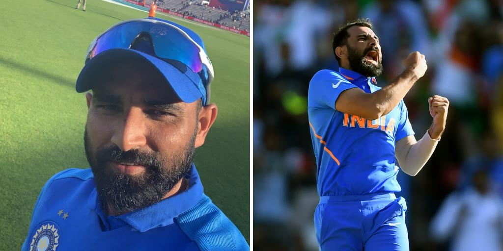 What a way to make a comeback, Mohammed Shami! #TeamIndia